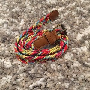 Other - Girls size 10 colorful belt.